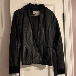 Black Wilson's Leather Jacker